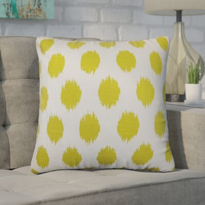 Winbush Ikat Cotton Throw Pillow