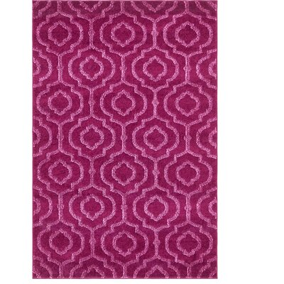 Mcreynolds Trellis Purple Area Rug Rug Size: Rectangle 4 x 6