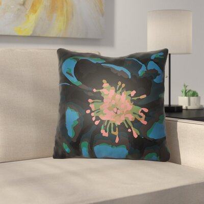 Virgil Indoor Throw Pillow Size: 20 H x 20 W x 4 D, Color: Blue