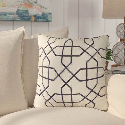 Cronin Throw Pillow Color: Blue