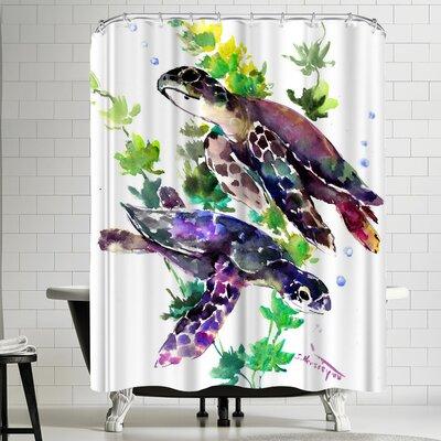 Suren Nersisyan Turtle Shower Curtain