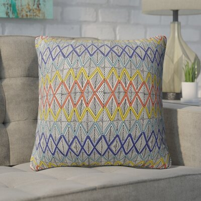 Fenster Geometric Throw Pillow Size: 18 x 18