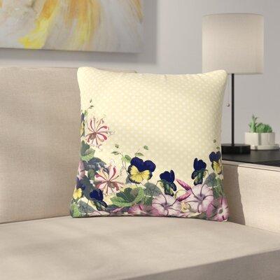 Alison Coxon Polka Dot Outdoor Throw Pillow Size: 18 H x 18 W x 5 D