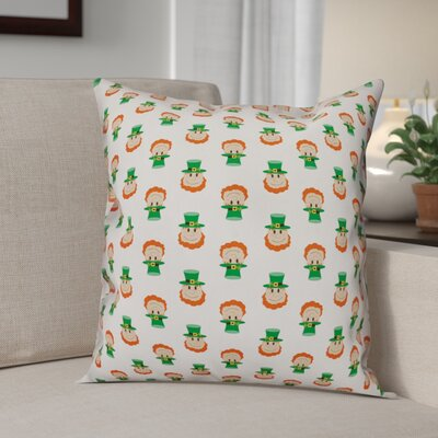 Benites Tiny Leprechaun Throw Pillow