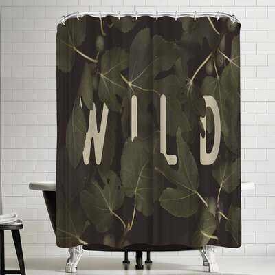 Florent Bodart Wild Main Shower Curtain