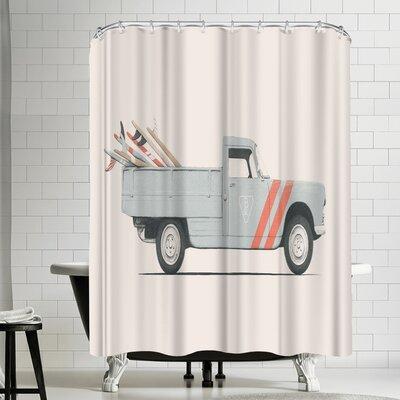 Florent Bodart Pickup Shower Curtain