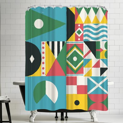 Florent Bodart Citizen of the Worlds Shower Curtain