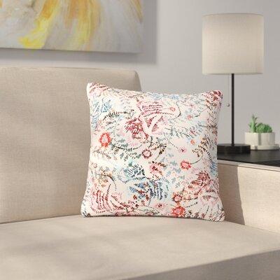 Fernanda Sternieri African Romance Outdoor Throw Pillow Size: 16 H x 16 W x 5 D, Color: Red/Beige