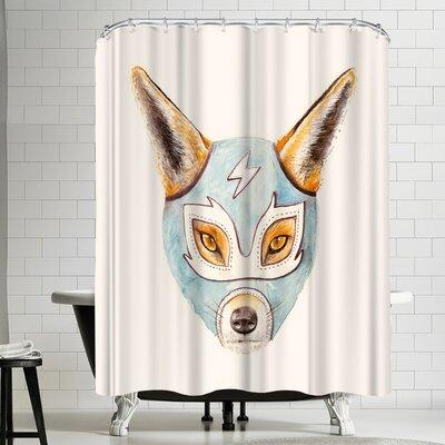 Florent Bodart Andrew Fox Wrestler Shower Curtain
