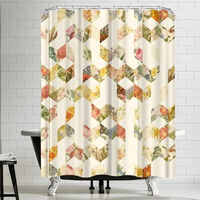 Florent Bodart Keziah Flowers Shower Curtain