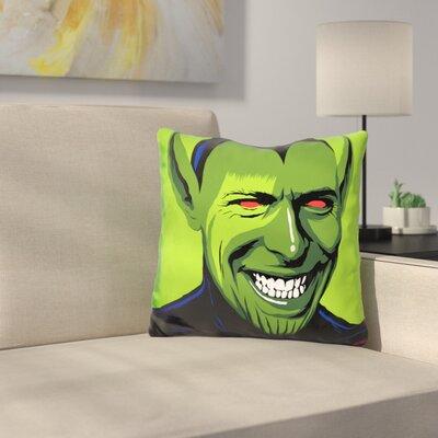 Loving the Alien Throw Pillow