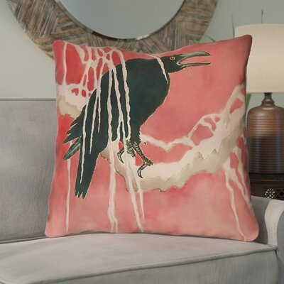 Montreal Crow and Willow 100% Cotton Euro Pillow