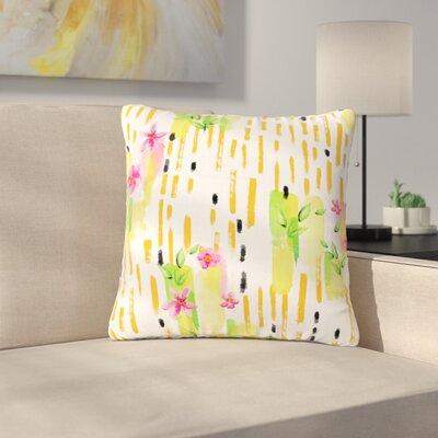 Victoria Krupp Garden Floral Outdoor Throw Pillow Size: 18 H x 18 W x 5 D