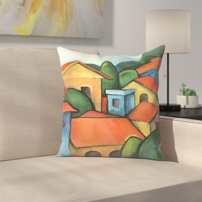 Peru1 Throw Pillow Size: 20 x 20