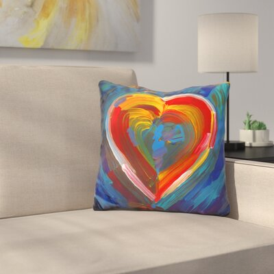 Heart Icon Throw Pillow
