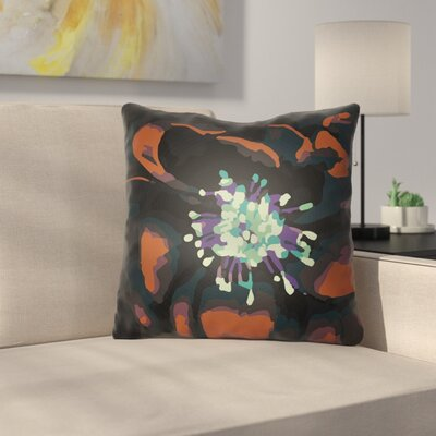 Virgil Indoor Throw Pillow Size: 22 H x 22 W x 5 D, Color: Rust