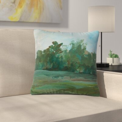 Cyndi Steen Stand of Trees Outdoor Throw Pillow Size: 18 H x 18 W x 5 D