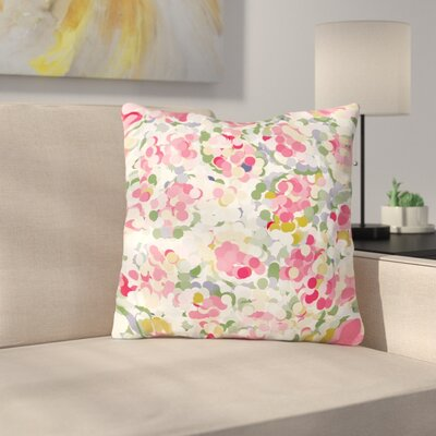 Soft Dots by Matthias Hennig Throw Pillow Size: 16 H x 16 W