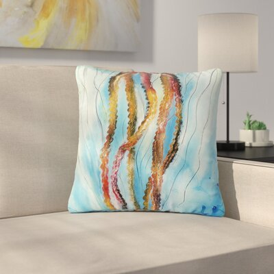 Josh Serafin Protein Boost Outdoor Throw Pillow Size: 18 H x 18 W x 5 D