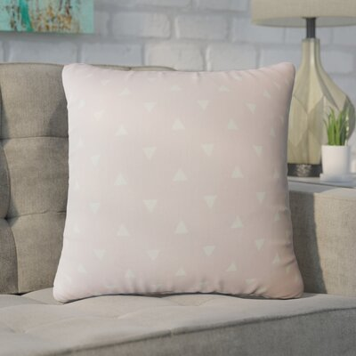 Wight Geometric Down Filled 100% Cotton Throw Pillow Size: 24 x 24, Color: Twill