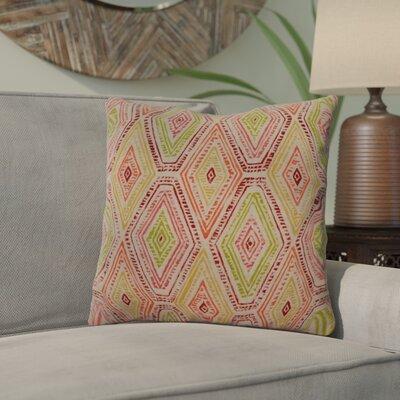 Dacey 100% Cotton Throw Pillow Color: Marsala