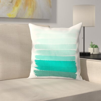 Ombre Throw Pillow Size: 16 x 16