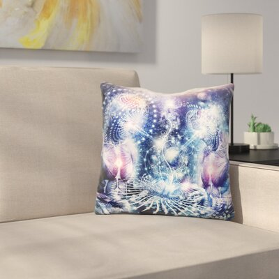 The Knowledge of the Planets Throw Pillow