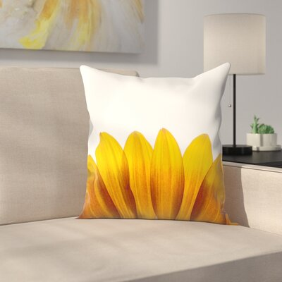 Maja Hrnjak Sunflower2 Throw Pillow Size: 14 x 14