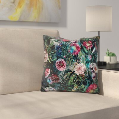 Poisonous Forest Throw Pillow
