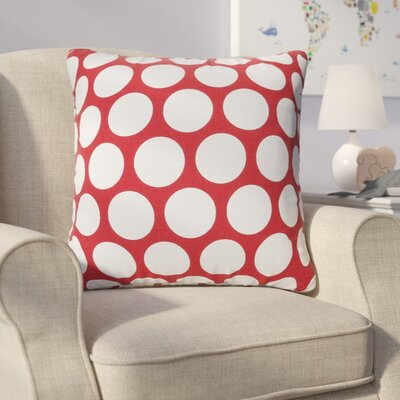 Telly Reg Large Throw Pillow Size: Extra Large, Color: Red Hot