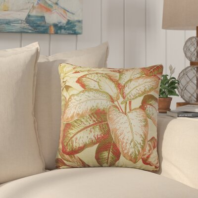 Yoni Floral Cotton Throw Pillow