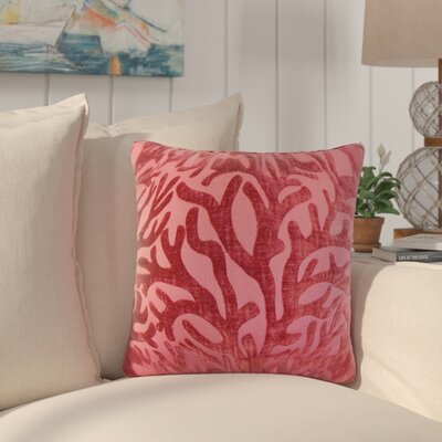 Whiting Coral Throw Pillow