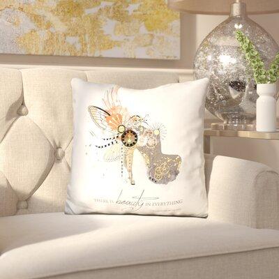 Marian Beauty is Timeless Throw Pillow