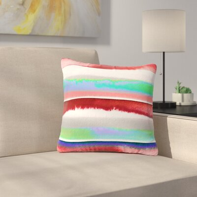 Ebi Emporium Prism Stripe 2 Outdoor Throw Pillow Size: 16 H x 16 W x 5 D