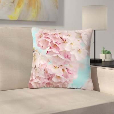 Sylvia Cook a Spring Floral Outdoor Throw Pillow Size: 18 H x 18 W x 5 D