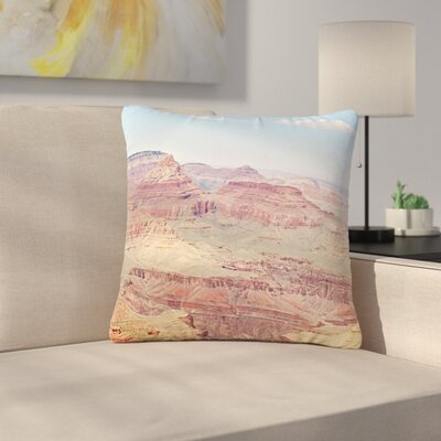 Sylvia Coomes Grand Canyon Panoramic Nature Travel Outdoor Throw Pillow Size: 16 H x 16 W x 5 D
