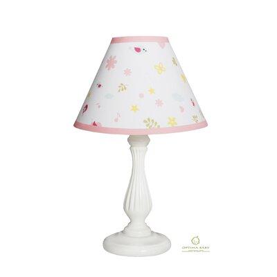 Happy Enchanted Birds 10 Linen Bell Lamp Shade