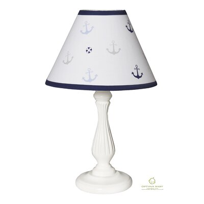 Nautical Explorer Sailor 10 Linen Bell Lamp Shade