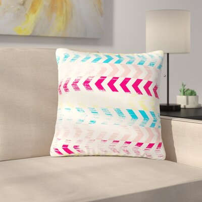 Louise Machado Arrow Art Deco Outdoor Throw Pillow Size: 18 H x 18 W x 5 D
