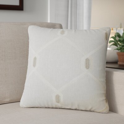 Kemo Geometric Throw Pillow Color: Charcoal