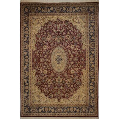 Canning Persian Hand-Knotted Wool Red/Brown Area Rug