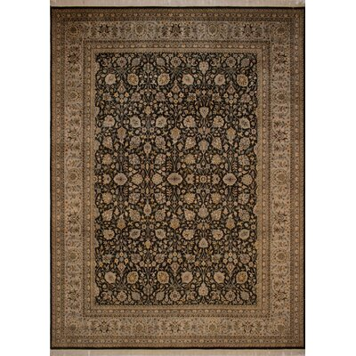 Canning Persian Hand-Knotted Brown/Green Area Rug