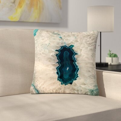 Sylvia Cook Quartz Geological Outdoor Throw Pillow Size: 16 H x 16 W x 5 D