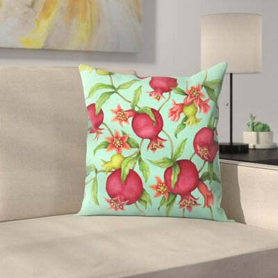 Pome Granate Throw Pillow Size: 18 x 18