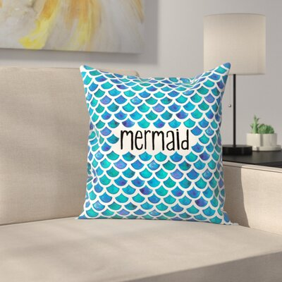 Elena ONeill Mermaid Throw Pillow Size: 14 x 14