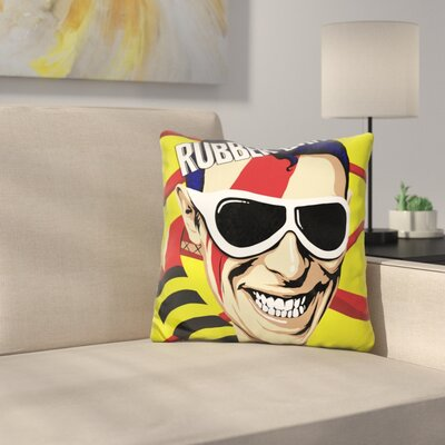 Dup Rocknroll Suicide Throw Pillow