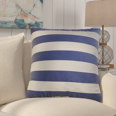 Outdoor Throw Pillow Color: Indigo