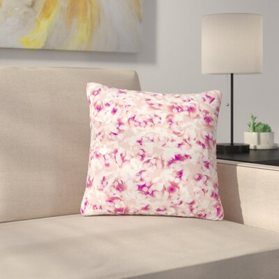Angelo Cerantola Rosebreath Floral Outdoor Throw Pillow Size: 16 H x 16 W x 5 D