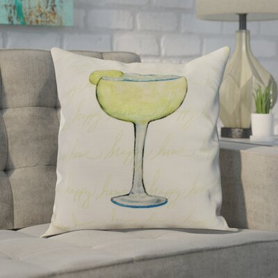 Carmack Throw Pillow Color: Light Green, Size: 18 x 18