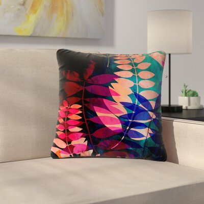 Jessica Wilde Jungle Nature Outdoor Throw Pillow Size: 16 H x 16 W x 5 D